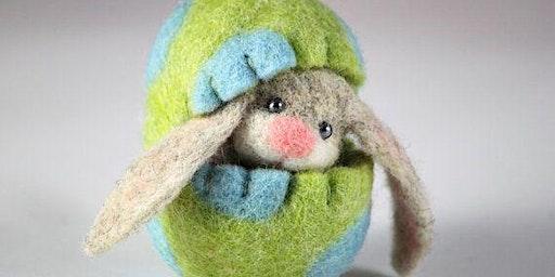 Peek-a-Boo Bunny Needle Felting with Amy Roberts