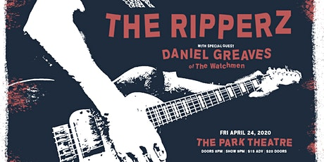 The Ripperz w/ Special Guest Danny Greaves of the tickets