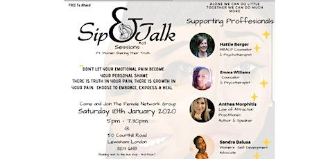 Sip & Talk Womens Session tickets