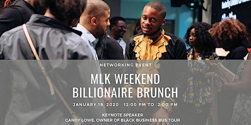 MLK Weekend Billionaire Brunch Networking Event