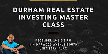 Durham Wealth Through Real Estate Investing Seminar tickets