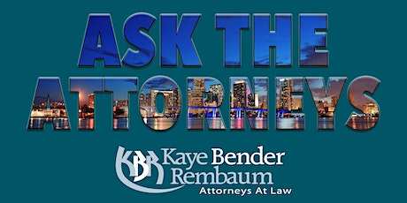 Ask the Attorneys Town Hall tickets