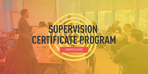 Supervision Certificate Program