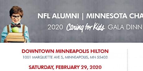 NFL Alumni Minnesota Chapter 2020 Caring for Kids Gala tickets