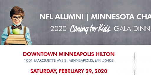 NFL Alumni Minnesota Chapter 2020 Caring for Kids Gala
