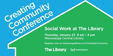 Creating Community Conference - Social Work at The Library tickets