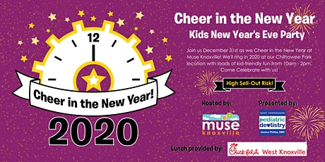 Cheer in the New Year 2020! tickets