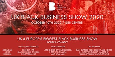 UK Black Business Show 2020 billets