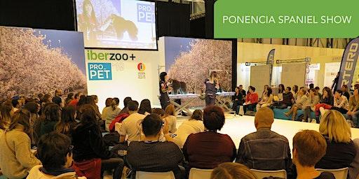 Ponencia Spaniel Show con Carlos Lozano y Carlos Romera