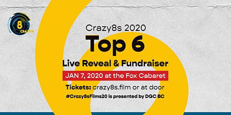 Crazy8s Top 6 Live Reveal & Fundraiser tickets