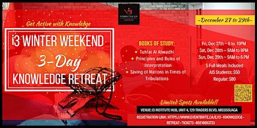 i3 Knowledge Retreat