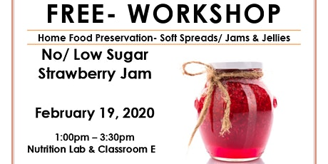 Food Preservation- Soft Spreads tickets