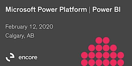Microsoft Power Platform | Power BI tickets