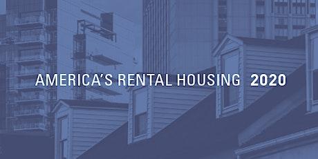 America's Rental Housing 2020 Report Release tickets