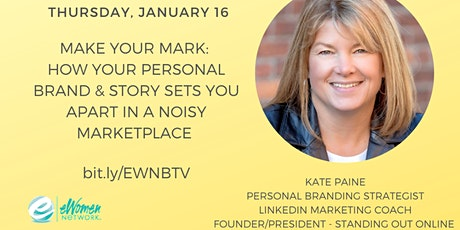 How Your Personal Brand & Story Sets You Apart in a Noisy Marketplace tickets