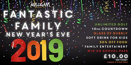 New Years Eve 2019 tickets