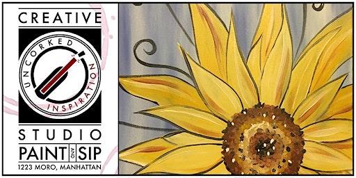 Paint & Sip | Sunflower