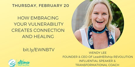How Embracing Your Vulnerability Creates Connection and Healing tickets
