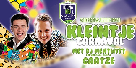 Kleintje Carnaval 2020 tickets