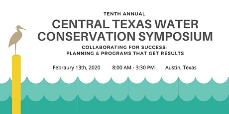2020 Central Texas Water Conservation Symposium tickets
