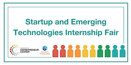 Startup and Emerging Technologies Internship Fair tickets