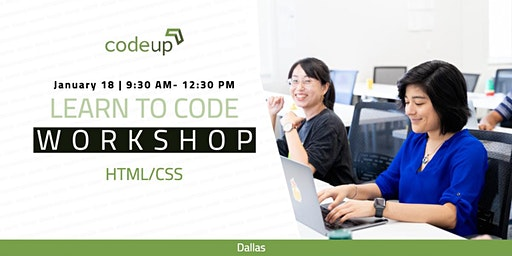 Dallas Learn to Code Workshop - HTML & CSS (Intro to Web Development)