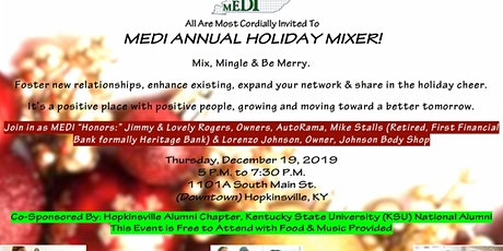 MEDI Annual Holiday Mixer tickets