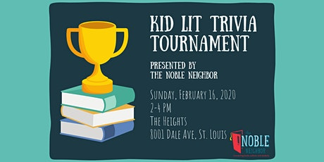 Kid Lit Trivia Tournament tickets