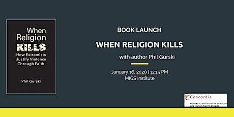 Book launch: When religion kills tickets
