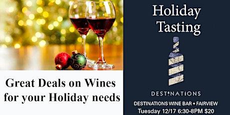 Holiday Wine Tasting tickets