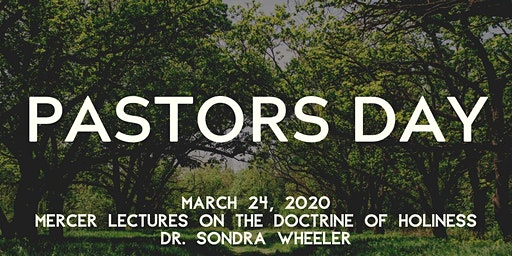 Pastors Day with Dr. Sondra Wheeler
