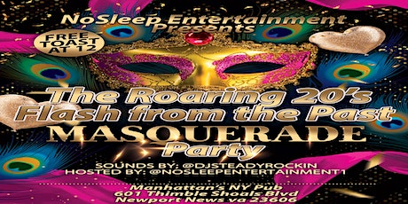 Copy of Mask Off 2019 Flash from the past New Year's Masquerade Party #NoSleepRoaring20sBash tickets