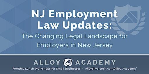 New Jersey Employment Law Updates - Alloy Academy Hammonton
