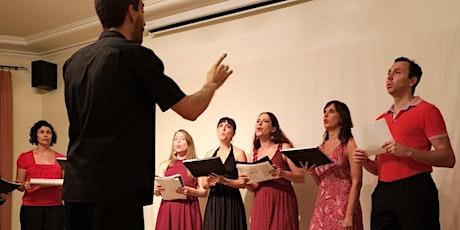 Classe gratuïta: Taller de cor Harmonio entradas