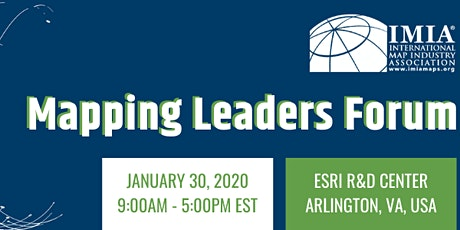IMIA DC Mapping Leaders Forum tickets