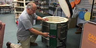 Kiln Safety, Operations and Preventative Maintenance Workshop  With Mike
