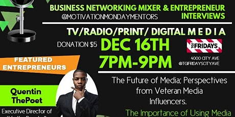 Motivation Monday Business Networking Mixer & Entrepreneur Interviews tickets
