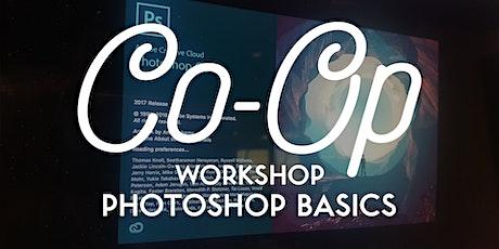 WORKSHOP: Photoshop Basics tickets
