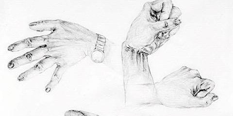 Drawing Toolbox - Focus on Drawing Hands