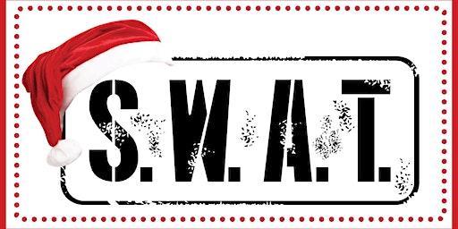 SWAT & Santa Visit the Hospital