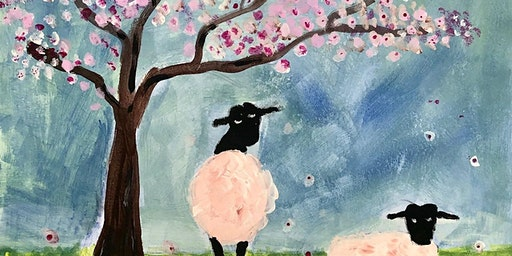 Paint Night  - Springtime - Paint your own ready to hang canvas!