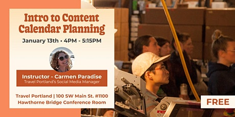 Intro to Content Calendar Planning tickets