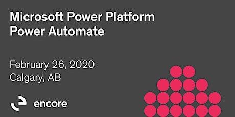 Microsoft Power Platform | Power Automate tickets