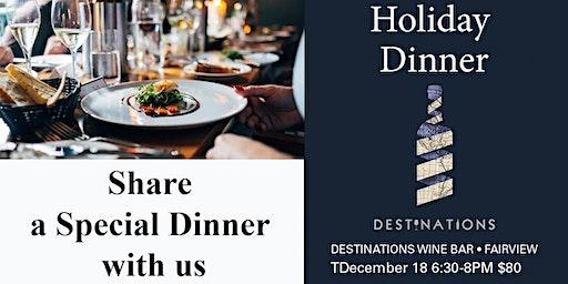 Executive Holiday Dinner
