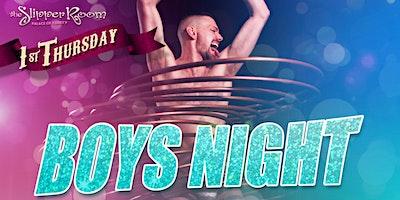 BOYS' NIGHT: An All-Male Cirquelesque Revue!