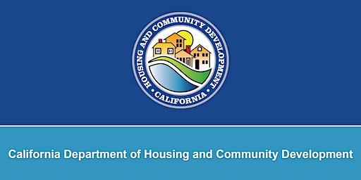 Joe Serna, Jr. Farmworker Housing Grant Program NOFA Workshop, Salinas