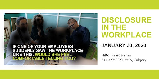 Disclosure in the Workplace