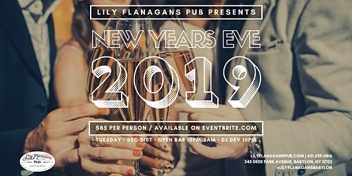 Lily Flanagan's New Years Eve 2019
