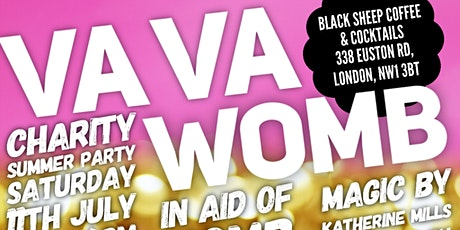 VA VA Womb>> CHARITY SUMMER PARTY! tickets