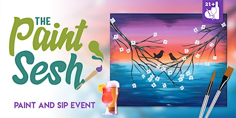 "Paint and Sip in Downtown Riverside, CA – ""Love Birds"" tickets"